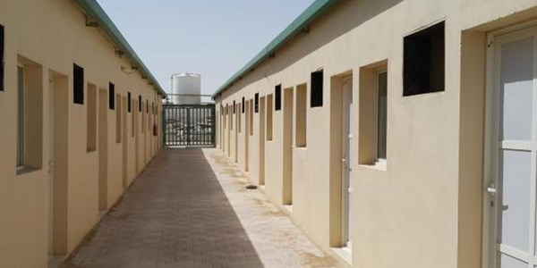 Labour camp in Ezdan, Qatar